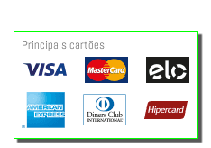 principais cartoes visa mastercard mega pvc